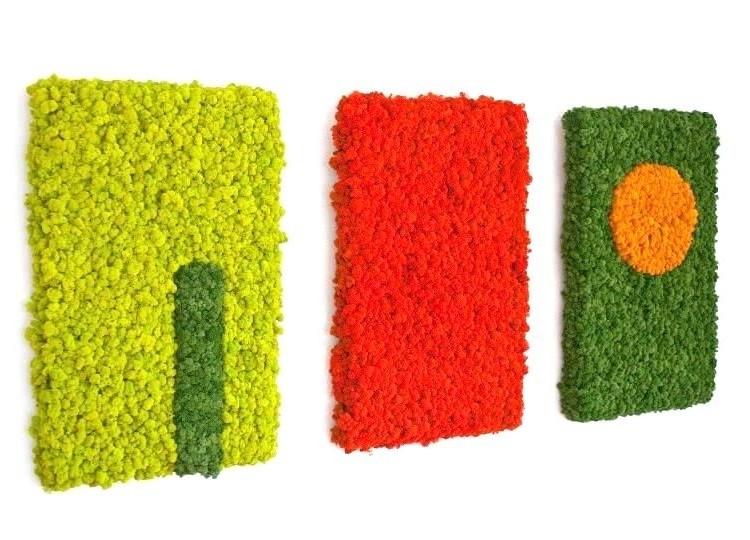Tablou vegetal stabilizat triptic 15